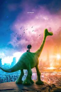 640x960 Dino In 2047 The Good Dinosaur 4k