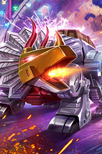 Dinobots Transformers Art 5k