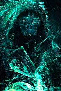 320x480 Dishonored 2 Artwork