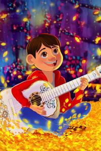 1242x2688 Disney Pixar COCO Fanart