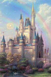 1242x2688 Disneyland Park Art
