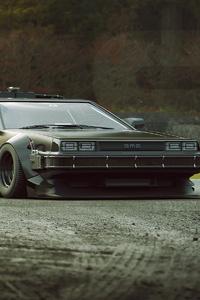 DMC DeLorean Back To The Future Car