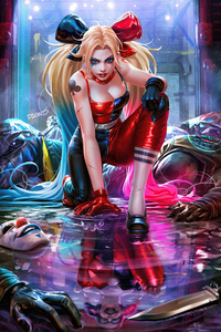 Do Not Mess With Harley Quinn 4k