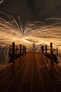 Dock Light Bridge 5k