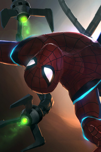 Doctor Octopus Vs Spiderman Contest Of Champions 4k