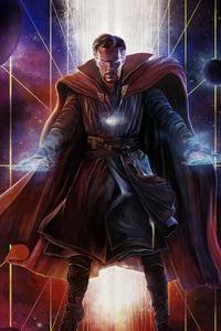 720x1280 Doctor Strange 2020 Art 4k