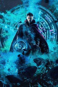 640x1136 Doctor Strange 4k Artwork 2020