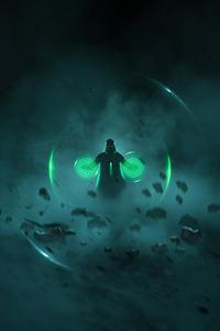 360x640 Doctor Strange 4k Minimal Artwork