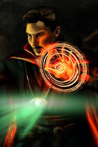 Doctor Strange 5K Art