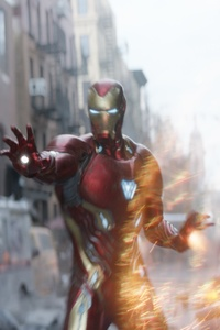 1125x2436 Doctor Strange And Iron Man In Avengers Infinity War