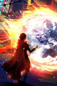 640x960 Doctor Strange Artwork
