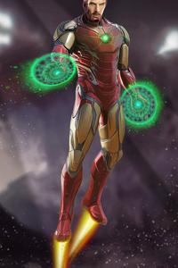 1125x2436 Doctor Strange As Ironman