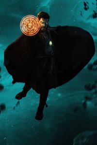 1125x2436 Doctor Strange Comic Hero