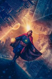 480x854 Doctor Strange Cosplay 5k