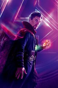 Doctor Strange In Avengers Infinity War 8k Poster