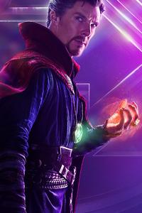 Doctor Strange In Avengers Infinity War New Poster