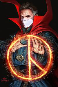 800x1280 Doctor Strange Mask