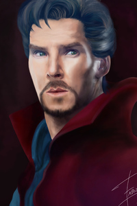 Doctor Strange Paint Art
