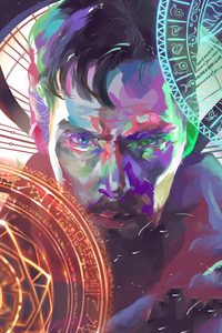 Doctor Strange Paint Artworks