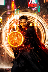 Doctor Strange Portal Opening Atrwork