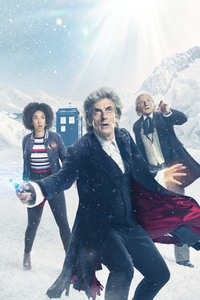 2160x3840 Doctor Who Season 10 Christmas Special 5k