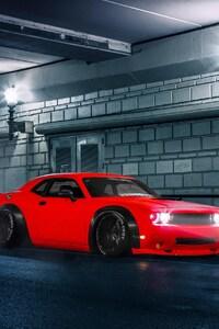 640x1136 Dodge Challenger 3