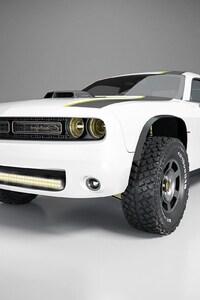 720x1280 Dodge Challenger Concept