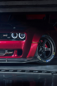 Dodge Challenger Demon 4k