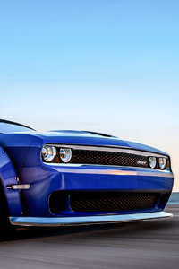 800x1280 Dodge Challenger Hellcat Gta V 4k