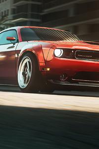 1440x2560 Dodge Challenger Need For Speed Heat 4k