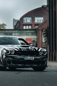 Dodge Challenger New 4k