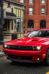 Dodge Challenger Red Car