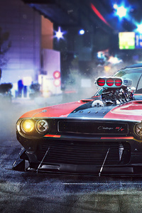 720x1280 Dodge Challenger RT 1970 Wrath