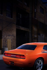 1080x1920 Dodge Challenger RT Classic Car