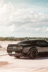 Dodge Challenger SRT 8k