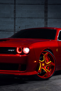 Dodge Challenger SRT Hellcat Flash