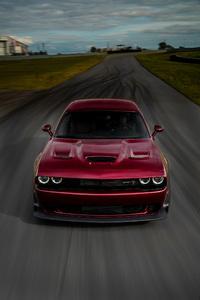 640x960 Dodge Challenger SRT Hellcat Widebody 2018