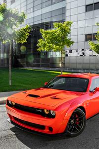 Dodge Challenger SRT Hellcat Widebody 4k