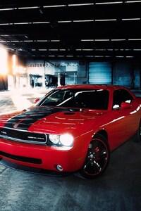 Dodge Challenger SRT Red
