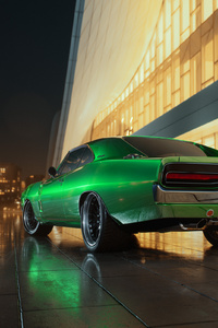 Dodge Charger 1969 RT Rear