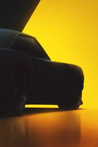 Dodge Charger Conceptart Miniamlism 4k