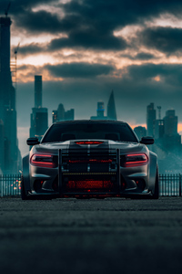 720x1280 Dodge Charger SRT Hellcat 2020 4k