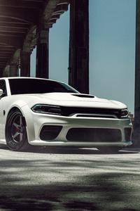 1125x2436 Dodge Hellcat Widebody Velgen KC Wide