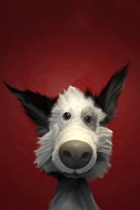 Dog 3d Art 4k