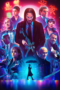 240x400 Dog In John Wick Chapter 3 2019 Parabellum 4k