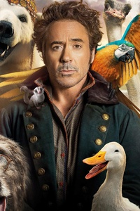 240x320 Dolittle 2020 Movie 8k
