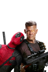 240x320 Domino Deadpool And Cable In Deadpool 2