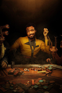 Donald Glover As Lando In Solo A Star Wars Story 2018 Movie