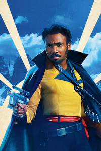 Donald Glover As Lando In Solo A Star Wars Story Movie