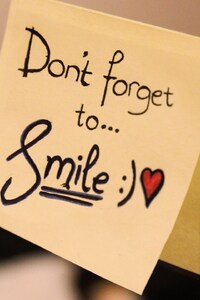 Dont Forget To Smile Msg